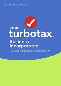 NEW TurboTax Business Incorporated 2016, English