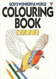 God's Wonderful World of Colouring Book - Birds