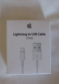 1m Apple Lightning Cables