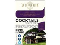 Vintage Mobile Bar Hire, Weddings, Parties, Special Occasions, Events, Festivals, Shows, Street food