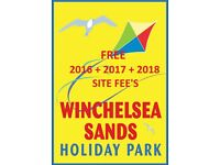 ** WINCHELSEA SANDS!- CARAVAN FOR SALE NEAR RYE & CAMBER ***