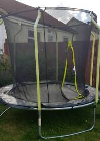 Nearly new 8ft Trampoline