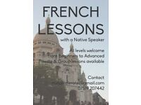 French Lesson, Private, Group and Skype