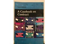 A Casebook on Contract (Sixth edition) - Andrew Burrows
