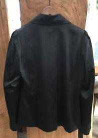 Ladies Black Satin Evening Jacket