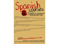 LEARN SPANISH IN HACKNEY ::: Spanish Lessons ::: Qualified teacher (native) ::: less than £9/h