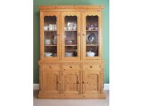 Beautiful Matured Honey Coloured Pine Dresser for Sale