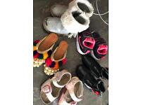 5x pairs toddler s shoes