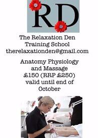 Anatomy, Physiology & Massage Course
