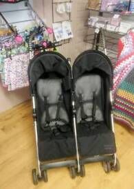 Great condition mamas and papas double buggy