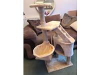 Cat Scratching Post Tree Tower
