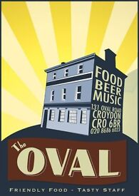 Full-time kitchen vacancy in our fun and friendly pub & music venue..