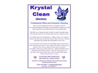 Krystal Clean (Aberdeen) - Professional Office and Domestic Cleaning