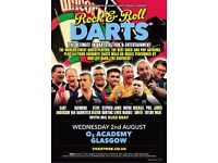 Rock n Roll Darts Ft Phil Taylor/ O2 Academy/ Wed 2 Aug/ Tickets available