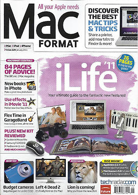 Mac Format magazine iLife Budget cameras iPhoto iMovie effects GarageBand