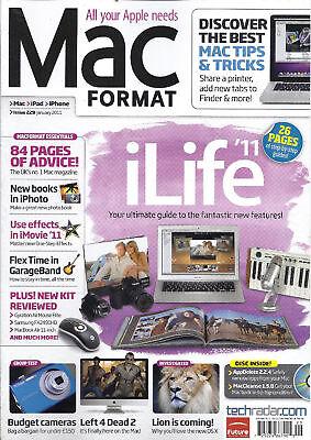 Mac Format Magazine iLife Budget Cameras iPhoto iMovie Effects GarageBand 2011