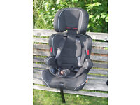 Halfords Group 2-3 Highback Booster Childs Car Seat exc cond, 4 to 12 years, 15-36 Kg. Ashford Middx