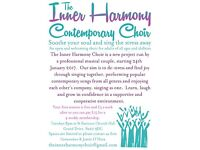 New Contemporary Choir Based In Raynes Park Look For Members Of All Abilities