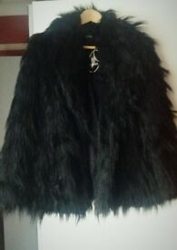 New with tags - Oasis Faux Fur Coat
