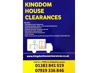 Kingdom House Clearances - Over 25 years experience - All of Fife and beyond - Best prices paid!