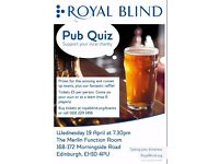 Put your knowledge to the test with Royal Blind's charity pub quiz!