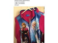 Disney Frozen zipped fleece