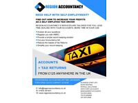 Need help as a self-employed Taxi or Uber driver? | Accounts | Tax Returns | And More!