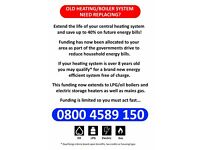 Free economy 7 storage heaters available
