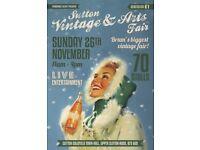SUTTON VINTAGE & ARTS FAIR