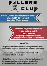 Ballers Club Football Academy Croydon