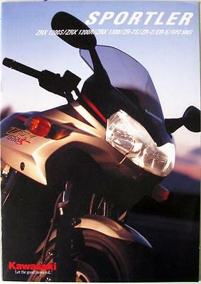 KAWASAKI Sportler - Motorcycle Sales Brochure - 2001 - #99999-402P01 - German