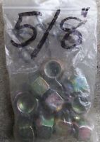 "10 - 5/8"" RH X 1"" O/D HEX WHEEL NUTS  $20.00"