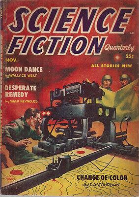Science Fiction Quarterly November 1954  Kelly Freas Cv