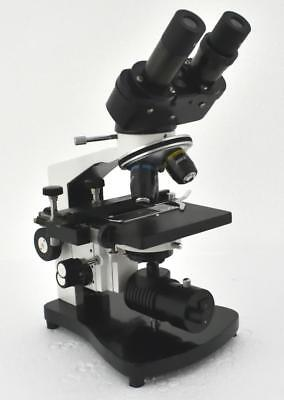 MIKO MD400BC 40X-2000x Advance Compound Binocular Microscope w Mechanical stage