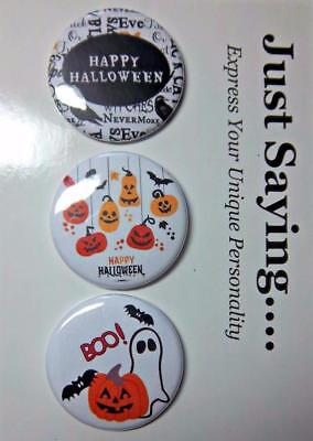 HALLOWEEN SET #1  for Magnetic Exchangeable Retractable Reel ID Badge Holder