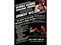 MOBILE BOXING PERSONAL TRAINER