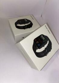 Smart Watch Bluetooth Heart Rate Blood Pressure Fitness Activity Tracker DT35.
