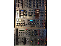 Eurorack modular synth set up (Selling as 1 item - Will not split up)