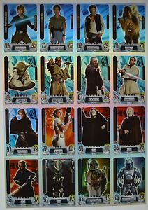 Force Attax Movie Card Serie 2 - aussuchen aus allen Force Meister Nr. 225 - 240
