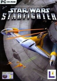 Star Wars Star Fighter ps2 game - VGC