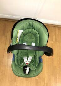 Green CYBEX Aton Car Seat