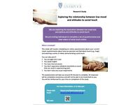 Participants needed for research study! Reimbursement available.