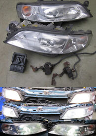 Vauxhall Vectra B Factory OEM Xenon Headlight Conversion Kit Upgrade