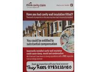 Have you spent any money on your property caused by the defective CAVITY WALL INSULATION ?