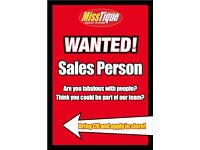 Retail Sales Staff Required for Belfast City Centre Shop, Flexible Hours.