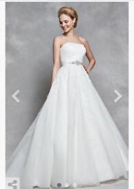 Brand New Anna Sorrano Wedding Dress Size 8
