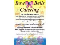 Catering and events organised from childrens parties to weddings