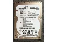 500GB Seagate ST500LT012 2.5 SATA hard drive
