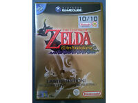 ZELDA Wind Waker & Ocarina of Time - Limited Edition with Bonus Disc - Nintendo Gamecube - VGC