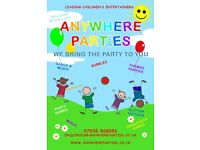 Leading Kids Party Entertainers / Party Planners
